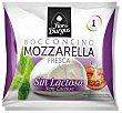 Mozzarela fresca sin lactosa Bolsa 125 g Flor de Burgos