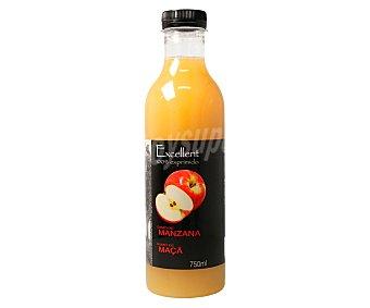 Excellent Zumo de manzana 100% exprimido auchan Mmm! 750 ml. 750 ml