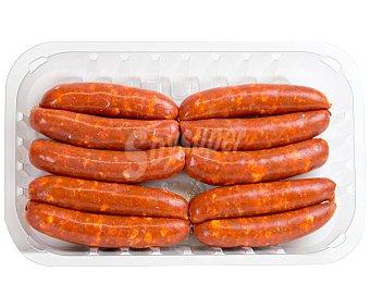 Emcesa Bandeja de longaniza fresca roja de calidad extra 350 gramos aproximados