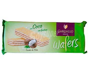 Gargallo Galletas wafer de sabor coco con fructosa 200 g