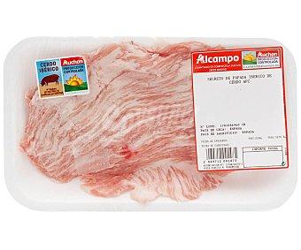 ALCAMPO PRODUCCIÓN CONTROLADA Secreto de papada de cerdo ibérico de cebo auchan producción controlada 1150.0 Aproximados