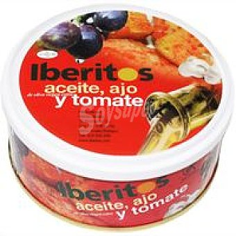 Iberitos Tomate natural en aceite-ajo Lata 250 g