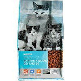 EROSKI Alimento especialidad gatitos 1,5Kg
