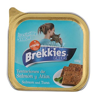 Affinity Paté con salmón y atún para gatos Cat Chow Tarrina de 100 g