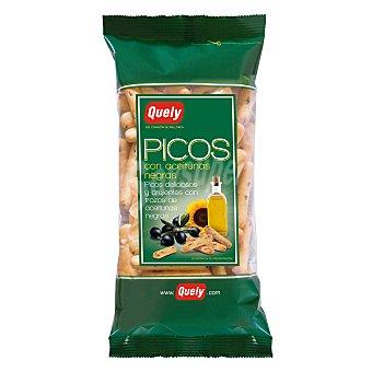 Quely Picos con aceitunas negras 180 g