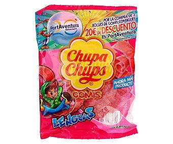 Chupa Chups Caramelos de goma con forma de lengua 150 gramos