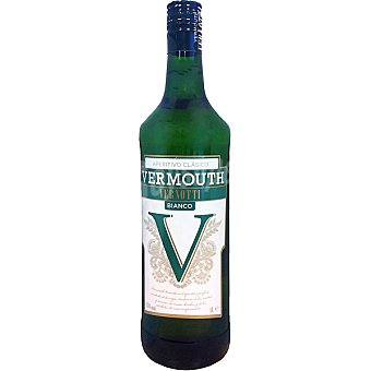VERNOTTI Vermouth blanco elaborado para grupo El Corte Inglés Botella 1 l