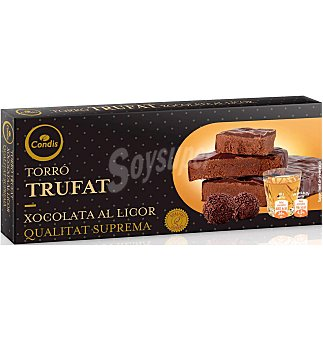 Condis Turrón chocolate al licor 200 G