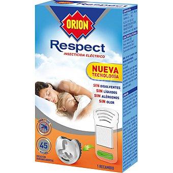 Orion Insecticida volador electrico Respect antimosquitos comun y tigre sin olor recambio