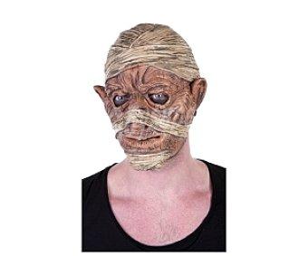 HAUNTED HOUSE Máscara de momia amoldable, Halloween Máscara momia