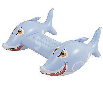 EURASPA Tabla de natación con cobertura de PVC y medidas: 87x74x35 centímetros, modelo Tiburón 1 unidad