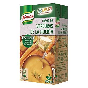 Knorr Crema de verduras de la huerta Ligeresa envase 500 ml