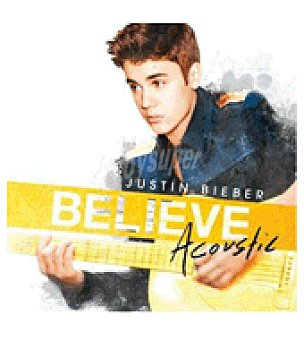 Believe acoustic (justin Bieber) cd