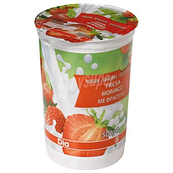 DIA Yogur con fresa Envase 500 gr