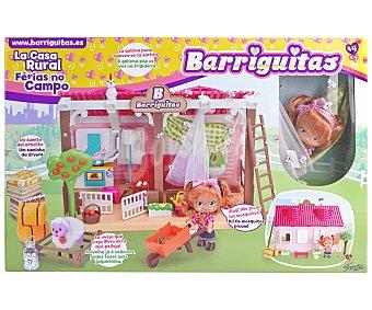 Barriguitas Escenario de juego Casa rural con accesorios y 1 figura
