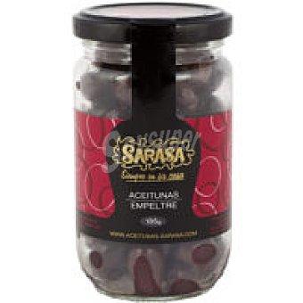 SARASA Empeltre Aceitunas negral naturales lata 160 g