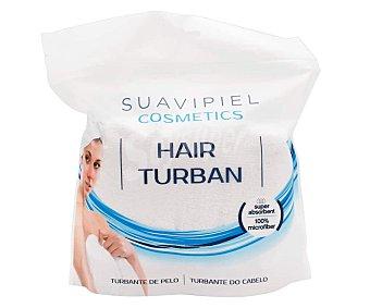 Suavipiel Turbante de pelo realizado en microfibra y super-absorbente Cosmetics 1 unidad