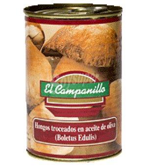 Campanillo Boletus edulis en aceite de oliva lata 230 g