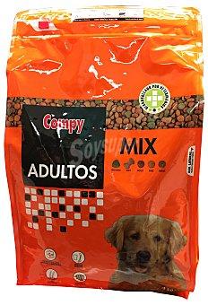 Compy Comida perro adulto croqueta menu completo mix Paquete 4 kg