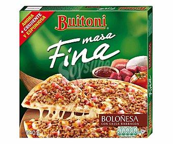 Buitoni Pizza fina a la boloñesa Caja 340 g