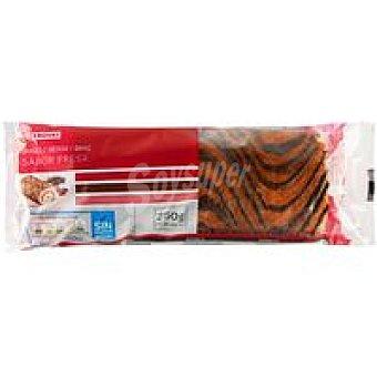 Eroski Brazo relleno de fresa Paquete 250 g