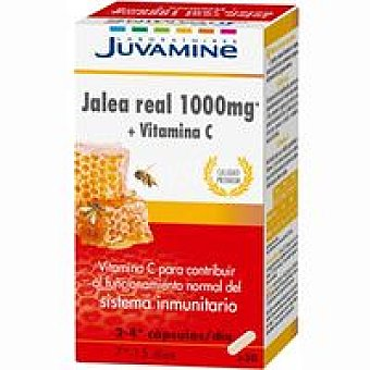Juvamine Jalea real 1000+Vitamina C Caja 30 unid