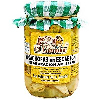 PEPEJO EL LABRADOR Alcachofas en escabeche Frasco 305 g neto escurrido