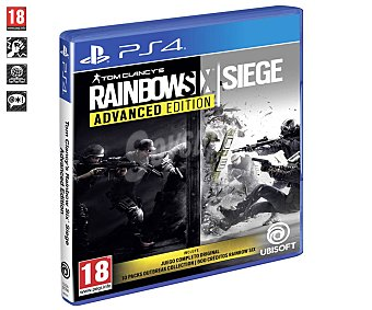 UBISOFT Tom Clancy's Rainbow Six: Siege Advanced Edition Ps4 Videojuego Tom Clancy's Rainbow Six: Siege Advanced Edition para Playstation 4. Género: acción, shooter, fps. pegi: 18