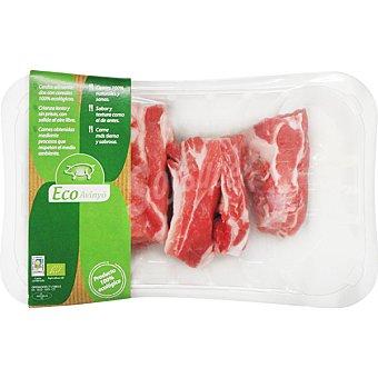 Eco-avinyo Costillas frescas de cerdo ecologicas en tiras peso aproximado bandeja 500 g Bandeja 500 g