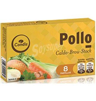 Condis Caldo pollo 8 pastillas 85 GRS