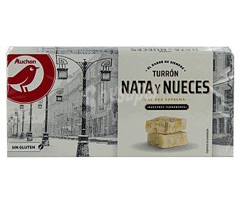 PRODUCTO ALCAMPO Turrón de nata y nueces prodcuto alcampo 250 g