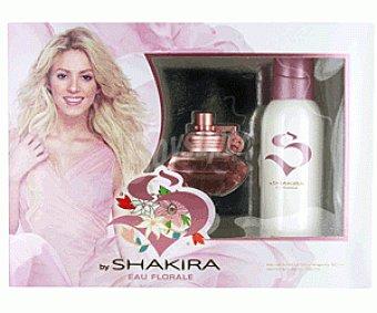 Shakira Florale Estuche de Colonia Mujer 50 Mililitros + Desodorante 150 Mililitros 1u