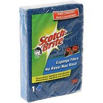 Scotch Brite Estropajo no raya con esponja Pack 1 unid
