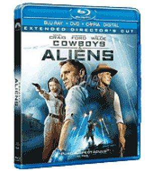 Cowboys y aliens (br+dvd+dc)