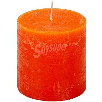 Spaas Vela rústica exterior de citronella en color naranja
