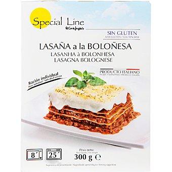Special Line Lasaña a la boloñesa Estuche 300 g