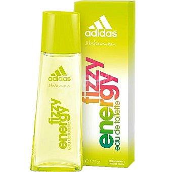 Adidas Eau de toilette natural femenina Fizzy Energy spray 75 ml