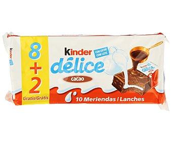Delice Kinder T8+2