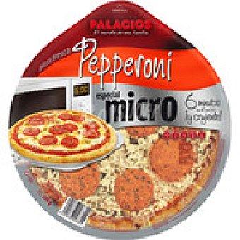 PALACIOS especial micro pizza fresca pepperoni  envase 340 g
