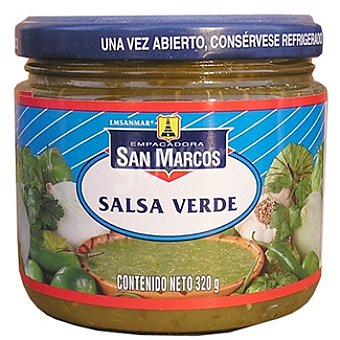 SAN MARCOS Salsa verde Frasco 320 g