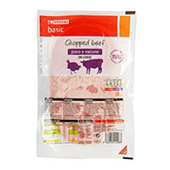 Eroski Basic Chopped beef Sobre 250 g