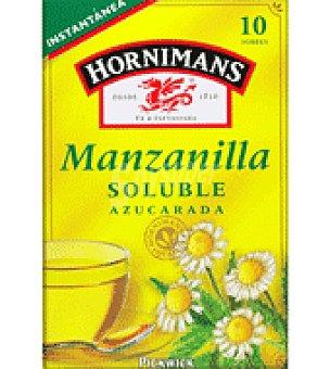 Hornimans Manzanilla soluble azucarada 10 ud