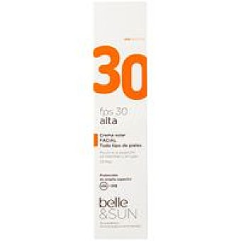 FP30 belle&SUN Crema solar facial Tubo 50 ml