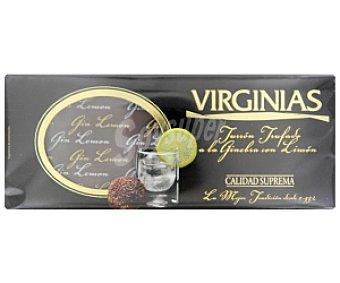 VIRGINIAS Turrón trufado a la ginebra con limón 200 Gramos