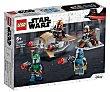 Juego de construcciones Pack de Combate: Mandalorianos con 102 piezas Star Wars 75267  LEGO