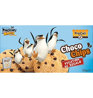 Proceli Galletas choco chips 120 GRS