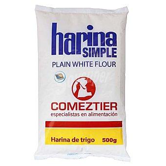 Comeztier Harina de trigo simple Bolsa 500 g