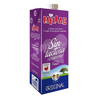 Millac Preparado lácteo de leche desnatada sin lactosa Envase 1 l