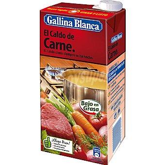 Gallina Blanca Caldo de carne Brik 1,04 litros