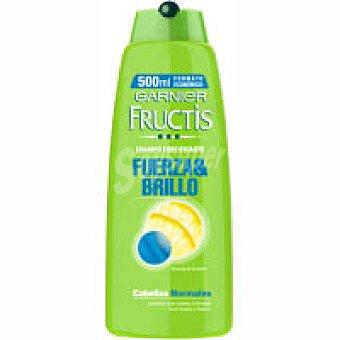 Fructis Garnier Champú fuerda&brillo para cabellos normales 500 ml